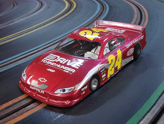 "Parma Gr. 10 Flex-Kar RTR w/ ""your choice"" custom Nascar Body-"