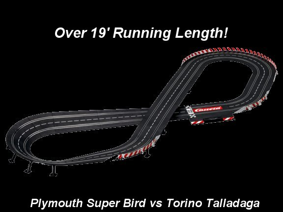 Carrera Petty Racing Nascar Race Set-