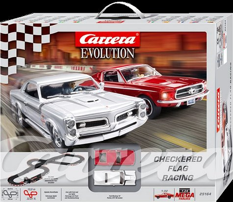 Carrera Checkered Flag Run Race Set-
