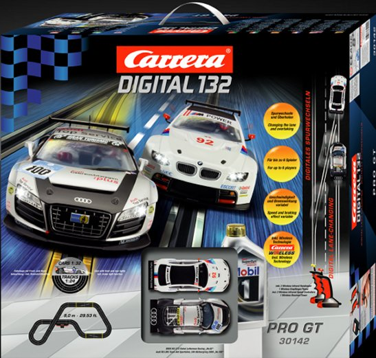 "Carrera Digital 132 ""Pro GT"" Wireless Race Set-"