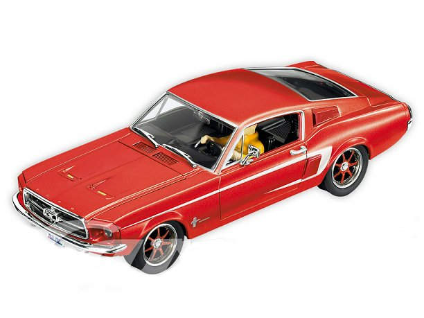 "Carrera Digital 132 ""67 Ford Mustang - red-"