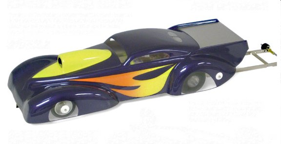 Parma Edge RTR - '41 Pro Mod Pro Stock Drag Slot Car-