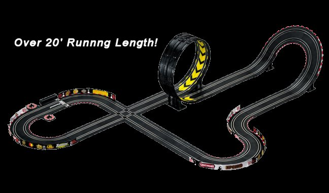 "Carrera GO ""Speed Racer"" 1/43 Slot Car Race Set-"