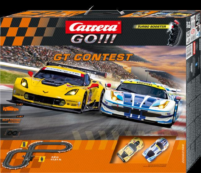 Carrera GO GT Contest 1/43 Slot Car Race Set-