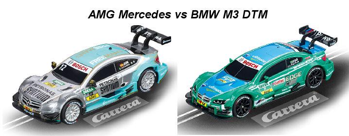 "Carrera GO ""DTM Speedway"" 1/43 Slot Car Race Set - Over 29' Running length!-"