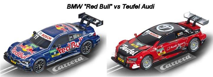 "Carrera GO ""DTM Touring Contest"" 1/43 Slot Car Race Set-"