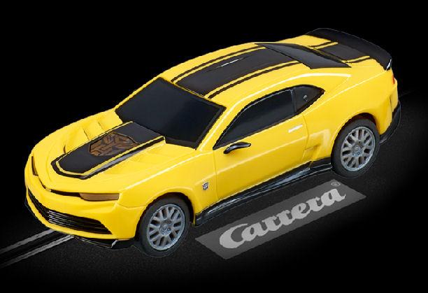 "Carrera GO Transformers ""Bumblebee"" 1/43 Scale Slot Car-"