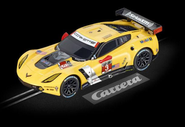 "Carrera GO Chevrolet Corvette C7.R ""No.3"" 1/43 Scale Slot Car-"