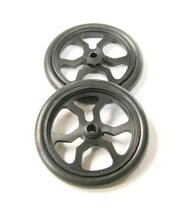 JDS 17&quot; Spider Drag Fronts <i>&quot;Black&quot;</i>