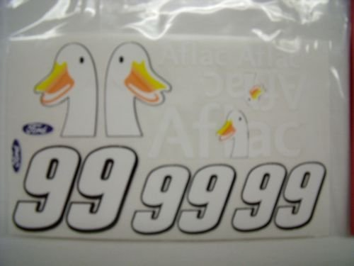 """Go Fast """"99 Aflac"""" Vinyl Decal-"""