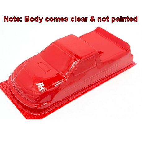 "JK 4"" Toyota Nastruck Clear - 0.010"" 1/24 Slot Car Body"