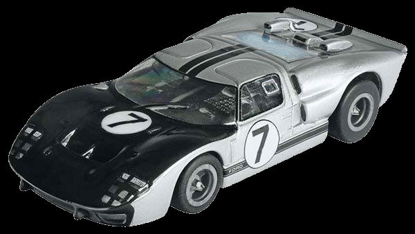 "AFX ""GT40 7 Hill Collector Series w/Clear Windows"" Mega-G HO Slot Car"