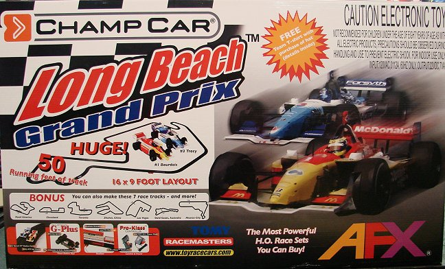 AFX Long Beach Grand Prix  Race Set-