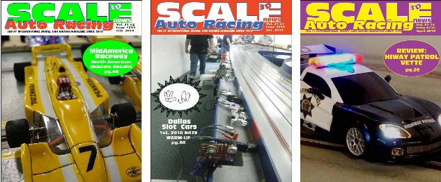 Scale Auto Racing Mag - Jan Feb and April 2010 - Download