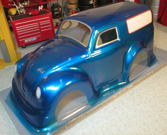 WRP VW Panel Truck Clear Drag Body- Collectors!