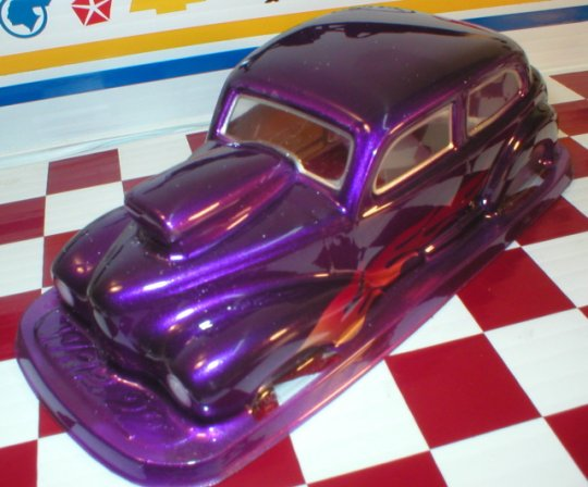 WRP 1950 Austin w/hood scoop Clear Drag Body - Collectors!