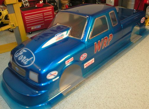 WRP Ford Pro Stock Truck Clear Drag Body