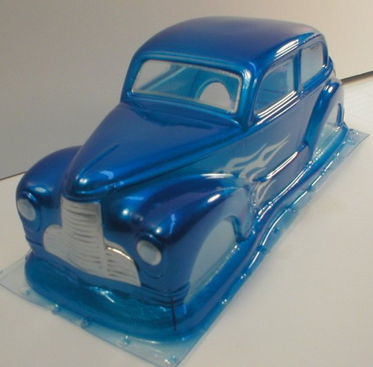 WRP 1940 Dodge Clear Drag Body-