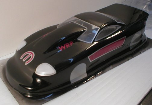 WRP Dodge Stealth Top Sportsman Clear Drag Body-