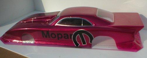 WRP Daytona w/Cowl Top Sportsman Clear Drag Body-