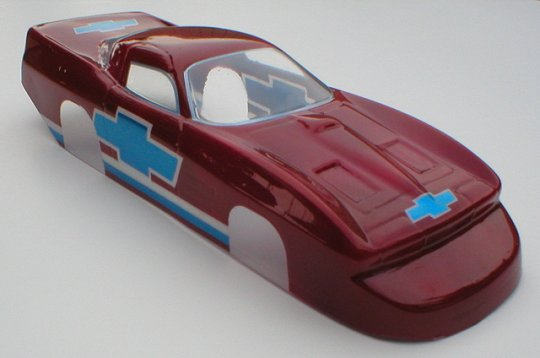 """WRP T/S """"63 Vette Clear Drag Body - Collectors!"""