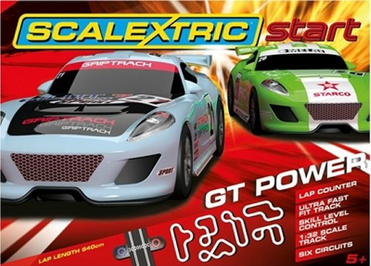 "Scalextric GT Power 1/32 ""Start Race Set"" - *6 Circuits*-"