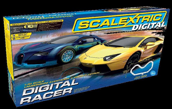 Scalextric Digital Racer 1/32 Slot Car Race Set-