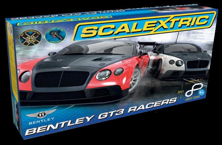Scalextric Bentley GT3 1/32 Slot Car Race Set-