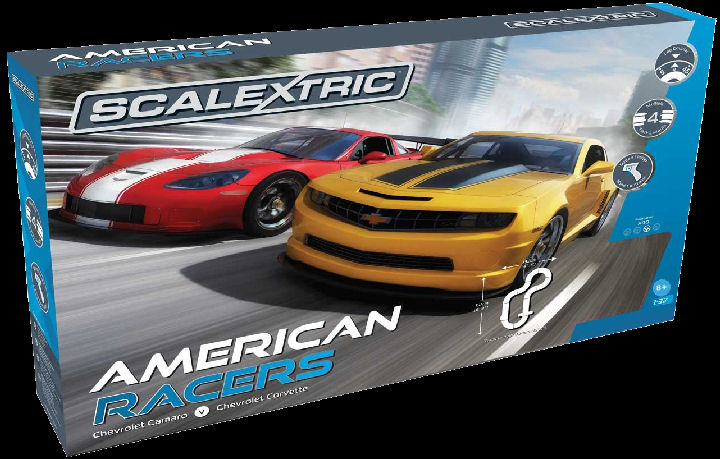 #C1364 Scalextric American Racers 1/32 Race Set - FREE SHIPPING!