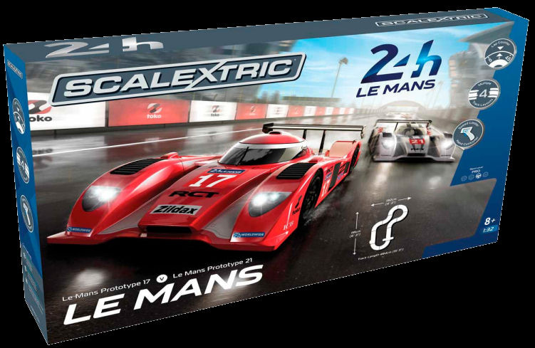 Scalextric Le Mans Sports Cars 1/32 Race Set