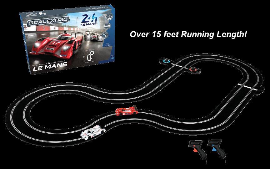 Scalextric Le Mans Sports Cars 1/32 Race Set-