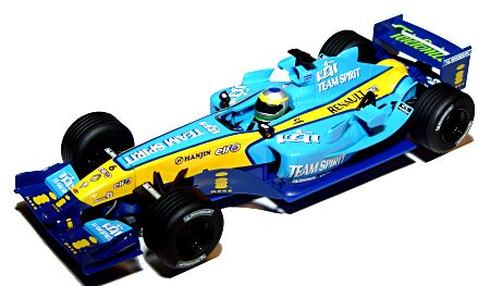 Scalextric Renault F1 R25 6-