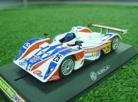 Scalextric MG Lola LeMans 2004 RML<br><font color=red><i>Rare Collectors!</font></i>