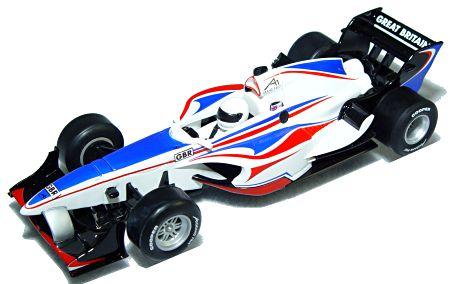 """Scalextric A1 Grand Prix  Team- Great Britain """"Digital""""-"""