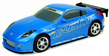 Scalextric Nissan 350Z Drift Slot Car 'Greddy'-