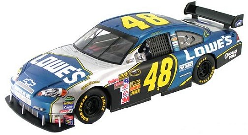 "Scalextric No. 48 Lowes NASCAR ""COT"" Chevrolet Impala ""Collector Car""-"