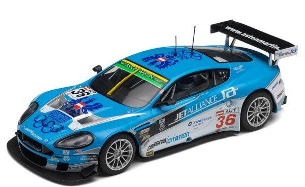 """Scalextric Aston Martin DBR9 """"Jet Alliance""""-"""