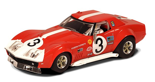 Scalextric 1968 Chevrolet Corvette L88<br> <font color=red>US Only Limited Edition!</font>-