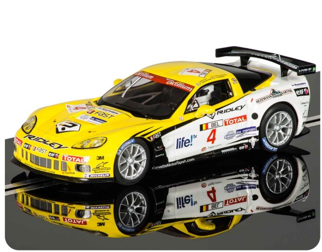 Scalextric Chevrolet Corvette C6R - <i>Working Front & Rear Lights</i>-