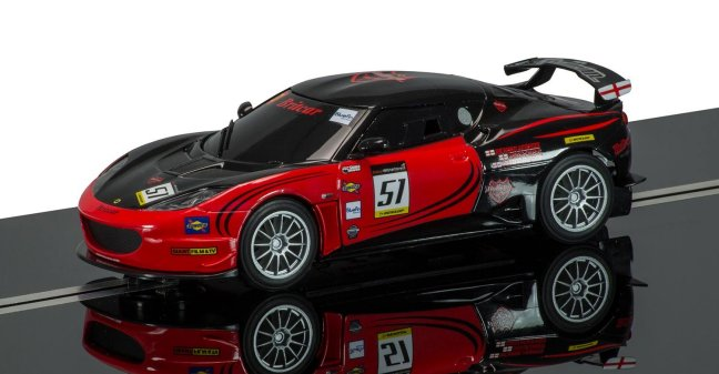 Scalextric Lotus Evora GT4 <br><i> Collertors Car</i>-
