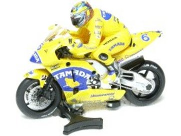"""Scalextric MotoGP Honda Camel """"Makoto Tamada"""""""