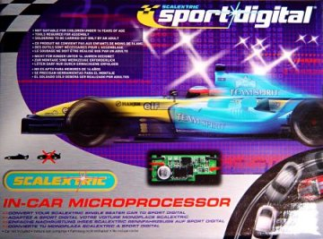 Scalextric Sport Digital Retro-fit Chips-(Single Seater Type)