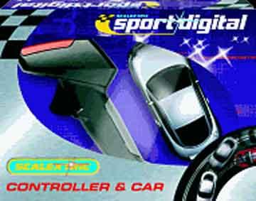 Scalextric Digital Hand Controller & Audi TT -blue-