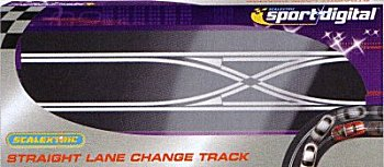 Digital Straight Lane Change Track-