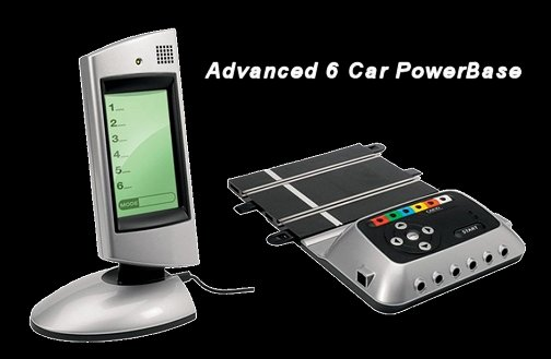 Scalextric Advanced 6 Car Digital Race Control Powerbase-