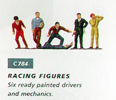 Scalextric Racing Figures-