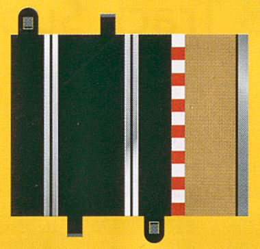 Scalextric Sport Half Straight (2 pieces)-