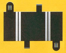 Scalextric Short Straight (2 pieces)