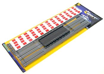 Scalextric Straight, Curbs & Barriers <br>(4 Peices)