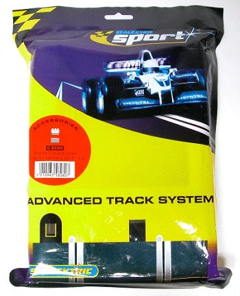 Scalextric R2 - Inner Tan Borders & Barriers 22.5° <br>( 4 pieces )-